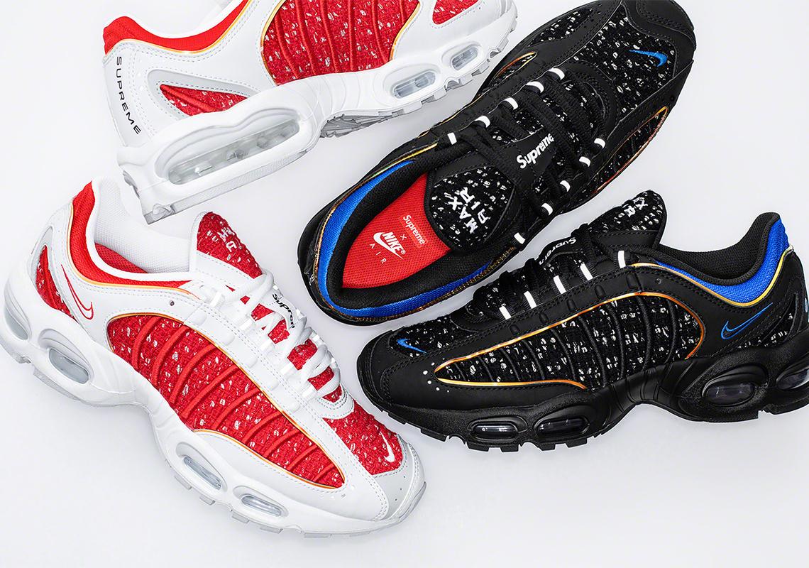 Supreme(シュプリーム) x Nike(ナイキ) Air Max Tailwind IV、3月23日土曜リリース
